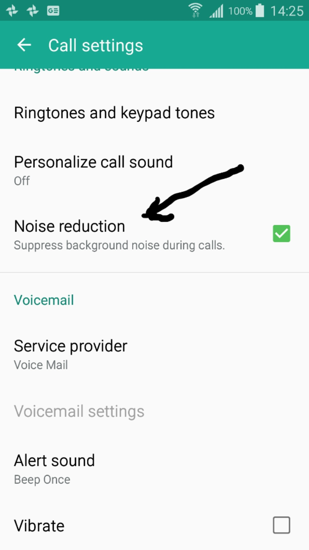 How can we supress background noise in a phone during a phone call