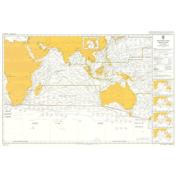 indian ocean routes images
