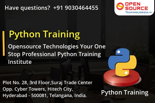 Which is the best institute for learning python in hyderabad quora become a professional in the field of python with the open source technologies real time based python certification training fandeluxe Gallery