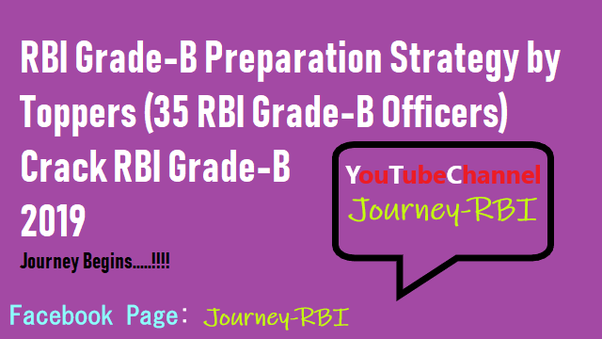 How to prepare for the RBI Grade B in 2019 - Quora