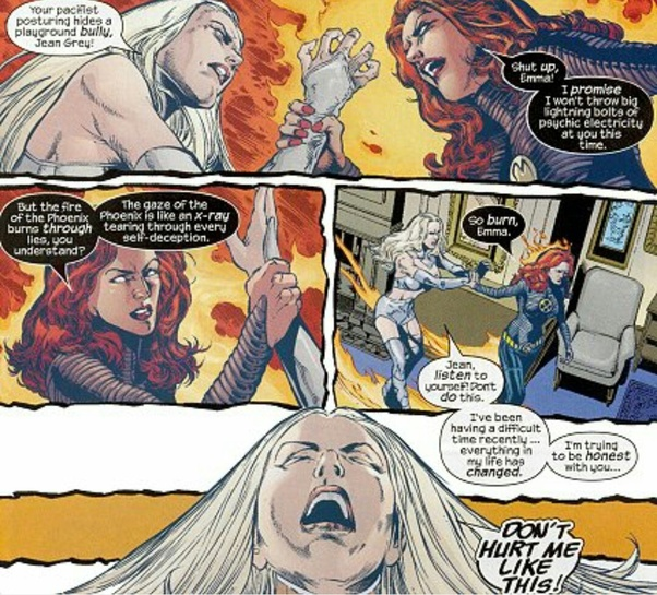 Who Is More Powerful Jean Grey Or Emma Frost Quora