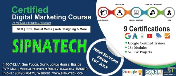 Which is the best digital marketing training institute in