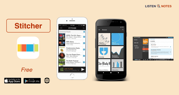 Which is the best podcast player for an Android smartphone