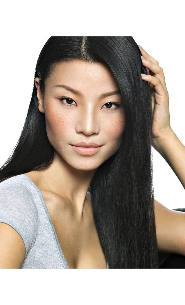 Is The Property That Causes Black Hair Color The Same In Both Asian