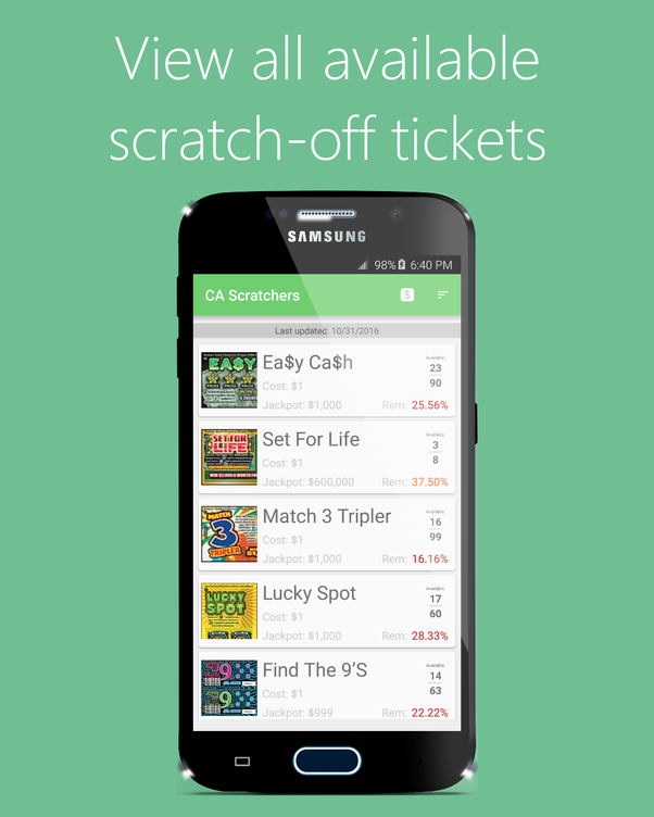 Is playing scratch off tickets worth it? - Quora