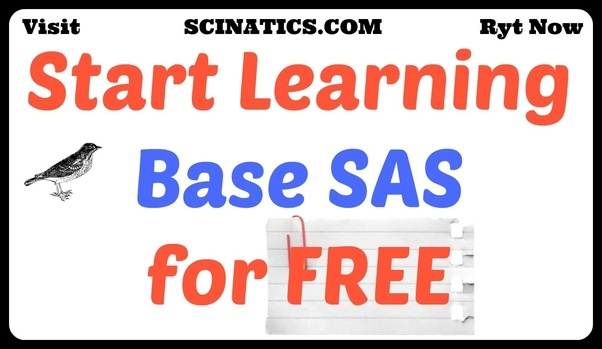 How long does it take to prepare for the sas base programmer for free sas tutorial get started with base sas programming scinatics fandeluxe Image collections