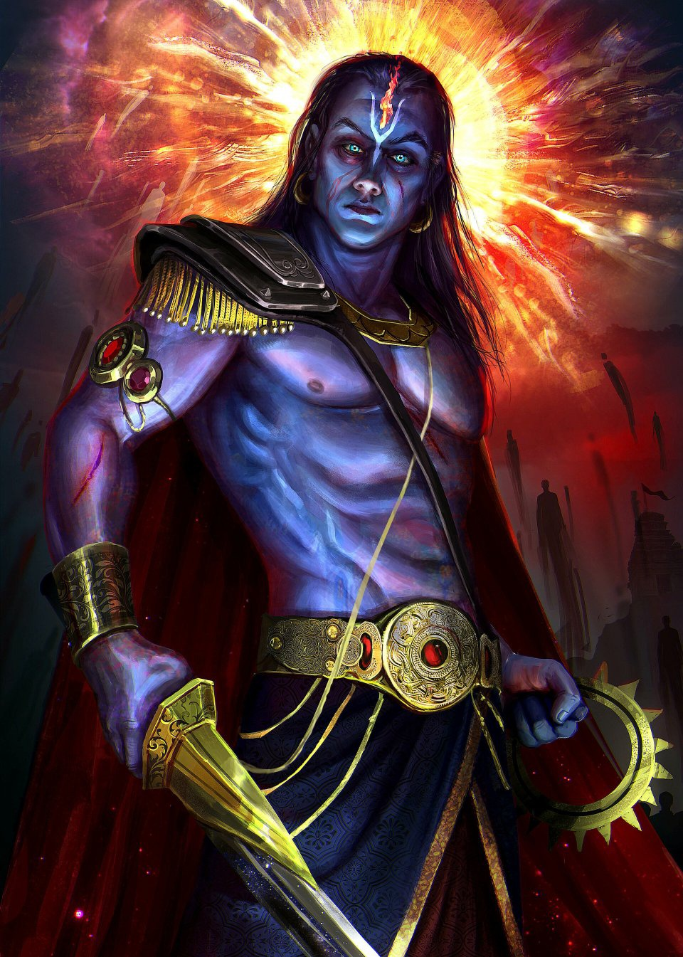 According to Hinduism, what is the interesting fact related to ...