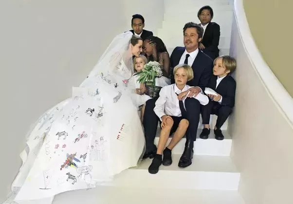 In A Lot Of Senses Brad And Angelina Were Married Before Their Wedding Day