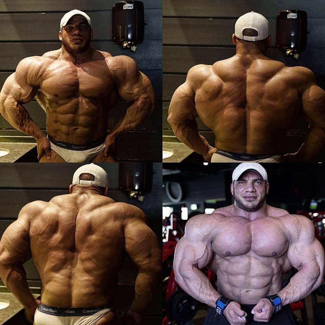 6 1 290 lb powerlifter trainer jacking hard