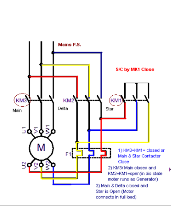 Star delta wiring data wiring diagrams how to change the direction of a star delta in the power wiring quora rh quora com star delta wiring connection star delta wiring diagram pdf ccuart Image collections