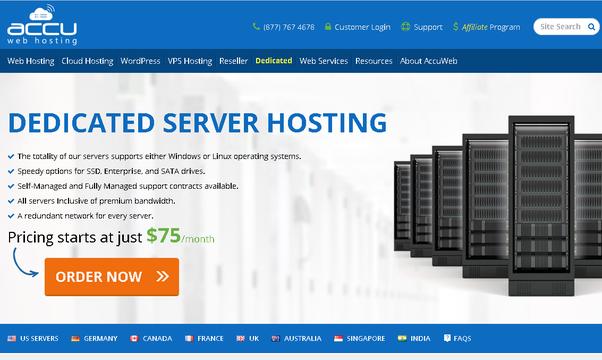 Dedicated server best price c