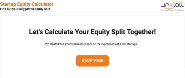 How should equity be split between founders, (early