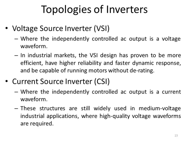 What are the various types of power inverters? - Quora