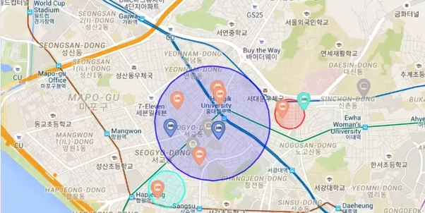 As a tourist what is the best area to stay in when visiting Seoul