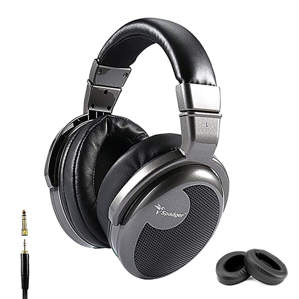 a1441c874eb718 Archgon Delicato Quality Headphones Over Ear High-Resolution Audio  Headphones, Gun Metal Gold/Black Wired Professional Headphones with Noise  Isolation