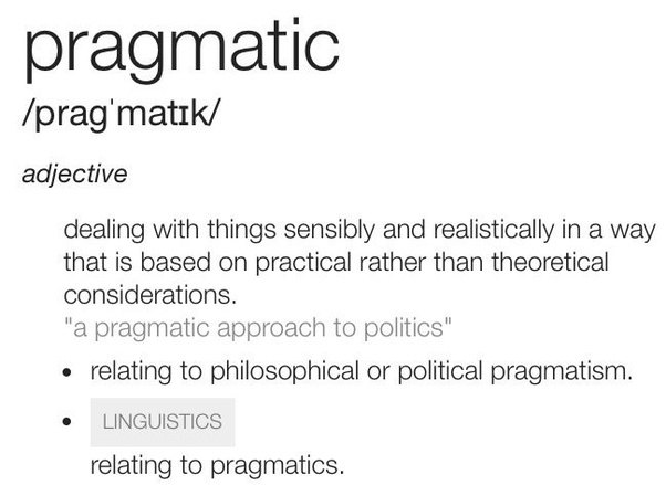 pragmatism is the philosophy of practicality Pragmatism summary pragmatism as a philosophy that meets both demands he shows how the pragmatic method helps establish meaning through practical.