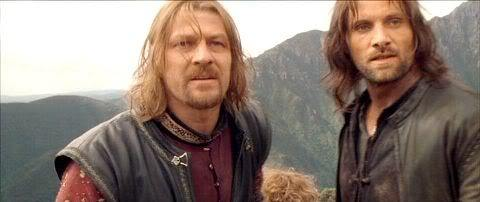 Image result for boromir and aragorn