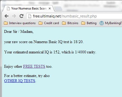Is http://test mensa no/ a good IQ test? - Quora