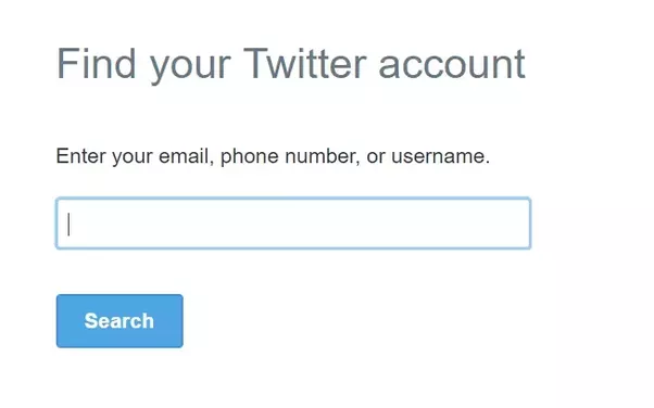 how to delete twitter account without password
