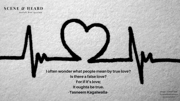 How do you find true love