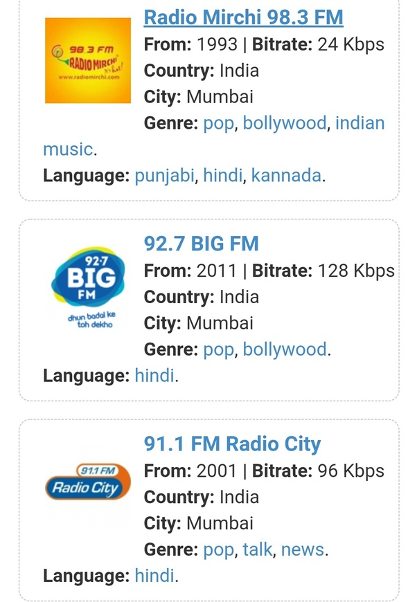 Which is the best FM radio station in India Punjab? - Quora