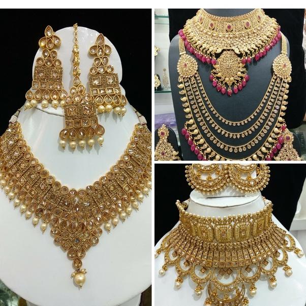 Artificial Bridal Jewellery Sets: Where Can I Find A Bridal Shop In Delhi?