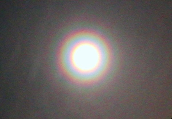 What Causes A Rainbow Ring Around The Moon