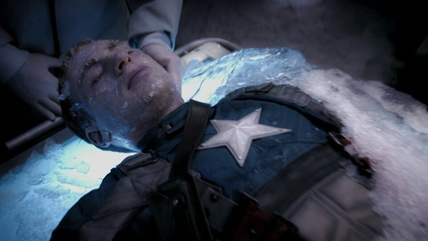 Image result for captain america crashes plane