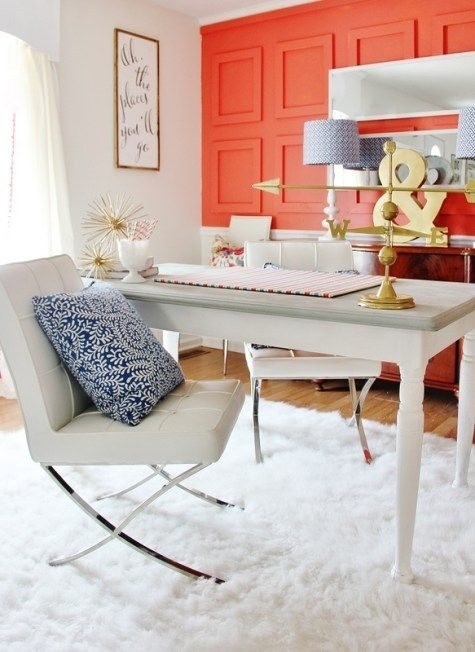 Choose A Stimulating Color That Is Also Soothing To You. Colors Like  Oranges, Reds, Yellows, Greens, And Even Deep Greys Are Perfect For Offices  And ...