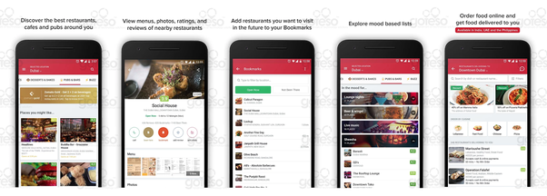 How To Develop Similar App Like Zomato Quora - Table reservation app
