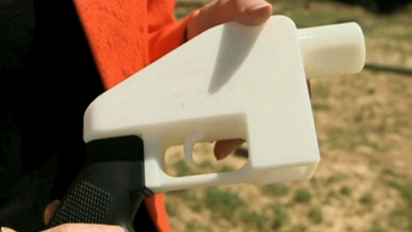 Can a gun be made entirely out of parts produced through 3D