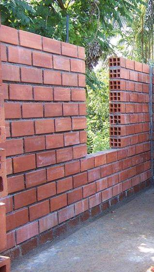 What are the pros and cons of hollow cement block building for Brick house construction cost