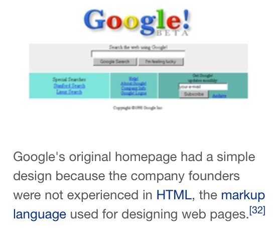 Why is the homepage of Google.com so simple? - Quora