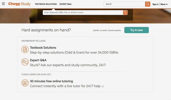 What is a way to do textbook solutions at Chegg? - Quora