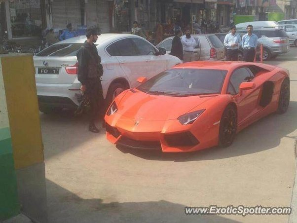 Here Are Some Of The Lamborghiniu0027s In Pakistan: