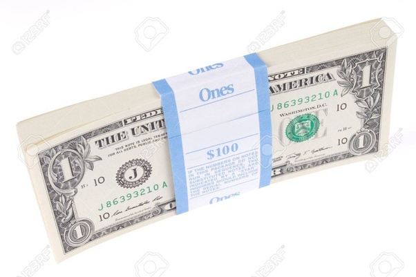 What would 1 billion look like in 1 dollar bills and how