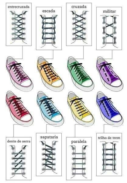 What are some alternate ways to tie shoelaces that are fast thanks for asking here are some pictures also google alternate ways to tie shoelaces ccuart Images