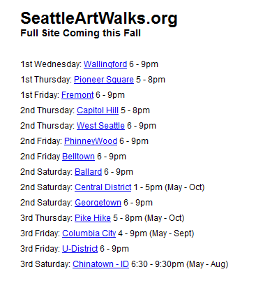 Where to meet people in seattle