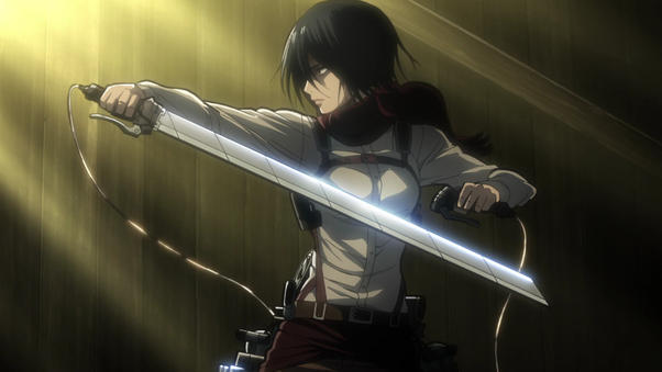 Why is mikasa from the anime attack on titan so popular quora there are few characters who not only deal with death and despair the way mikasa does but there are even fewer who are so good in combat like mikasa voltagebd Images