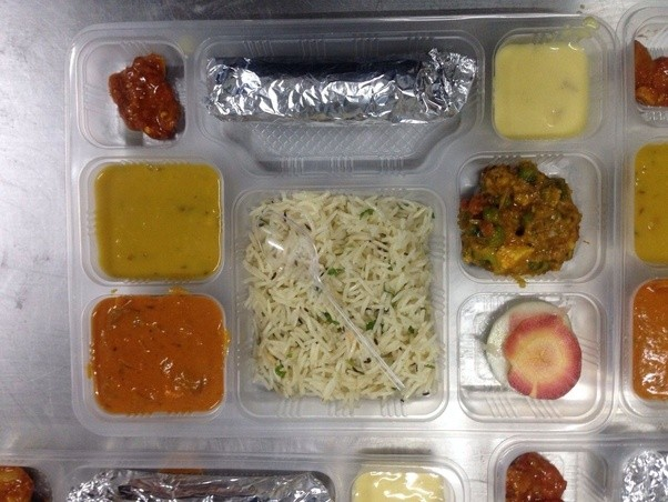 On Indian railways, what are good sources to order food while ... on can you wait, can you fly, can you come, can you read, can you get,