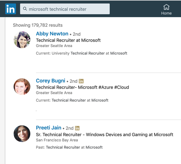 how to get a job at microsoft or google