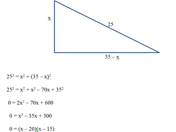 The Perimeter Of A Right Angle Triangle Is 60 Cm And Its