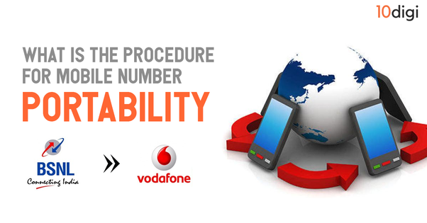 What is the procedure for mobile number portability from BSNL to