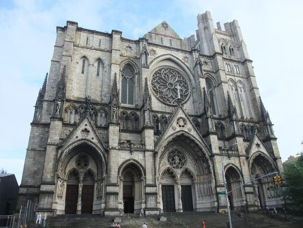 Which american city has the most gothic architecture quora st patricks cathedral riverside church sciox Gallery