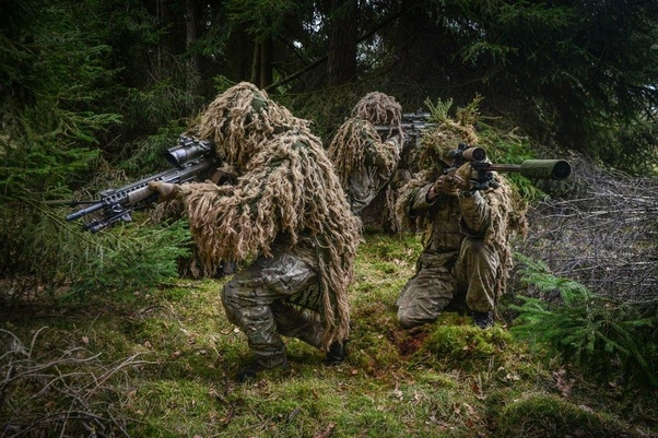72 Ghillie Suit Wallpapers On Wallpaperplay: What Are Some Mind-blowing Facts About Snipers?