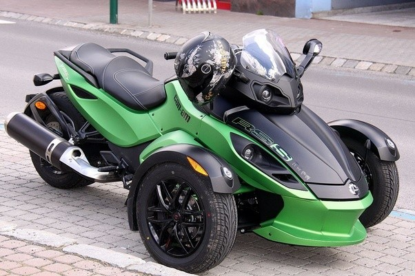 motorcycle pic like  Is the Can-Am Spyder a good bike to have as a daily vehicle? - Quora