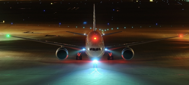 Why do some airplanes when flying have blinking lights and