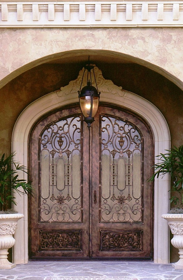 How can we choose wrought iron doors and gates? - Quora