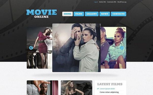 What are the best movie WordPress theme? - Quora