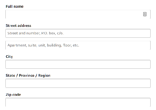 How to fill in Address Line 1 and Address Line 2 - Quora